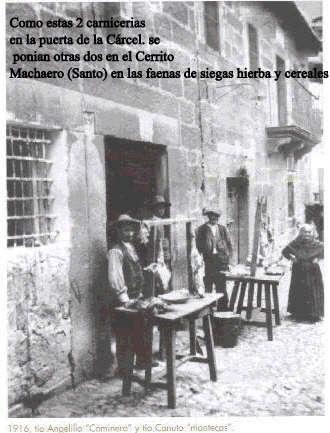 Carniceria Municipal  contigua a la Carcel de donde salieron nuestros padres y abuelos para ser f