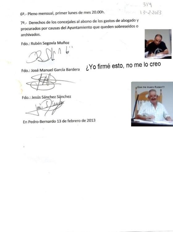 firmado con foto