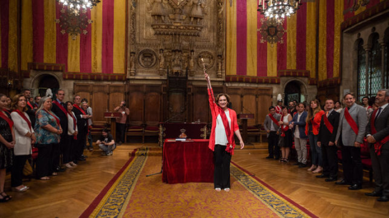 """Primera mujer  en la historia de Barcelona """"casi na"""""""