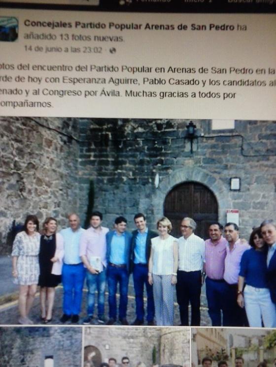 Aguirre en Arenas